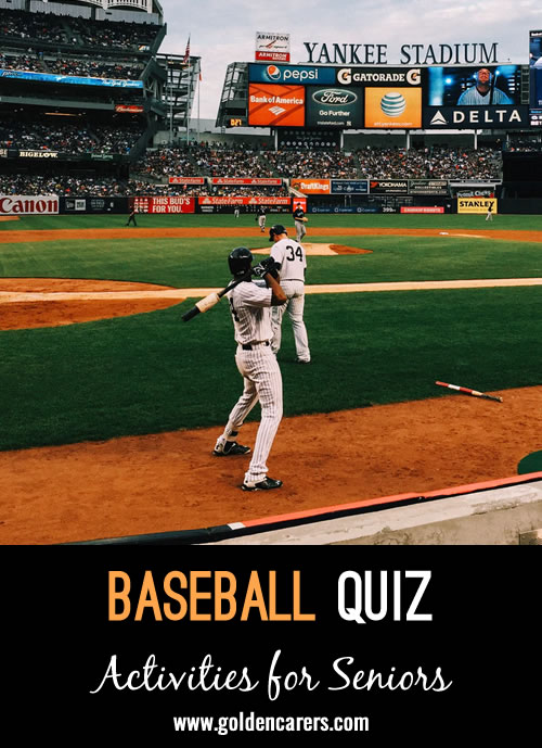 It's America's pastime and can bring together the country in the midst of war, chaos, or even the coronavirus pandemic. While baseball season sure looked different this year, it's always okay to celebrate with a bit of trivia and reminiscing.