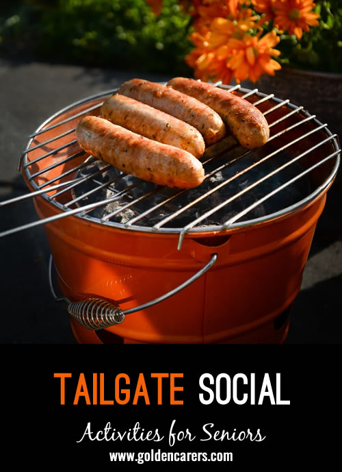 Tailgating season typically starts with the first football game, though baseball fans are known to tailgate before games as well.