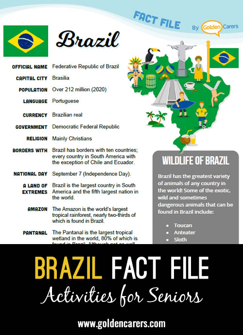 Brazil Fact File