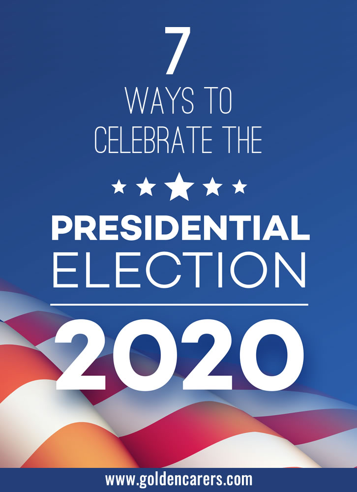 The 2020 United States presidential election is scheduled for November 3. The Covid-19 pandemic has thrown many aspects of the race into uncertainty, making it one of the most unconventional election races in history. Why not mark the occasion with some fun election themed decorations and activities!