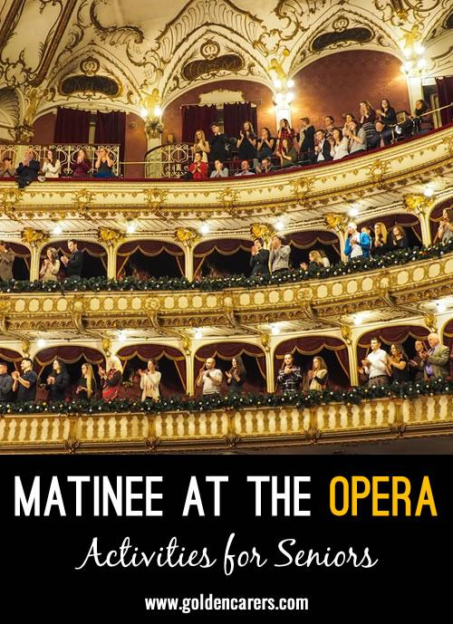 Matinee at the Opera