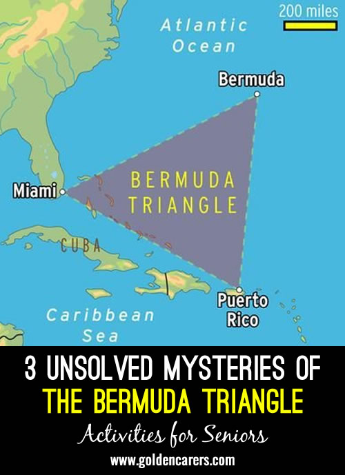 3 Unsolved Mysteries of the Bermuda Triangle