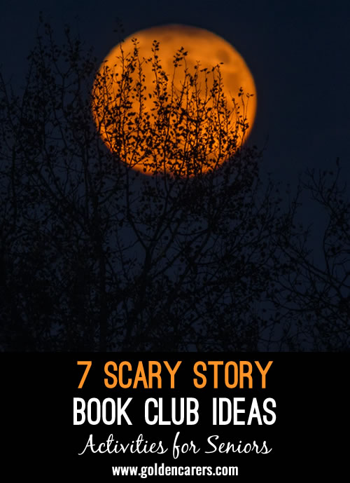 Put a spooky spin on your regular Book Club by adding a few of these fun and not-too-scary touches.