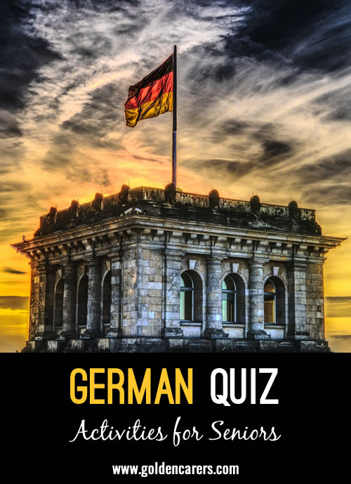 Test your knowledge of Germany!