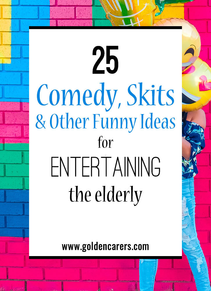 Add some levity and laughter into your community's day by planning some comedy events.