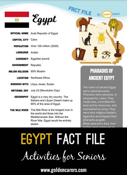 Egypt Fact File