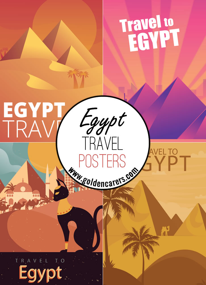 Egypt Travel Posters