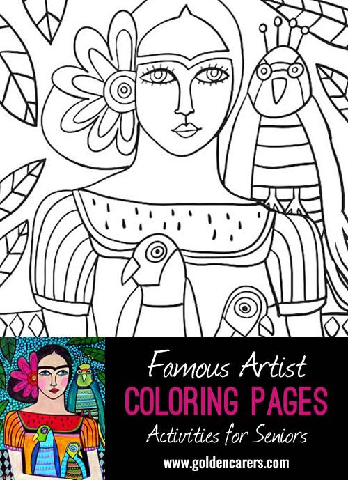 - Artist Impression - Frida Khalo - 2