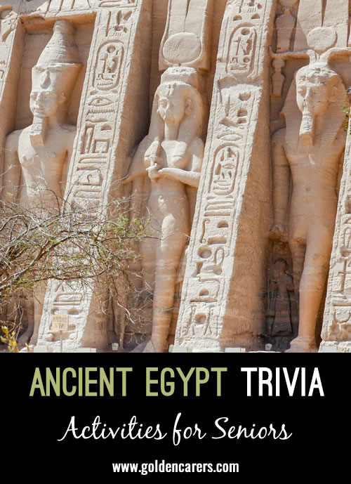 16 Snippets of Ancient Egypt Trivia