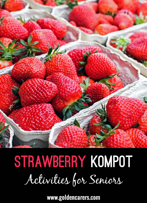 Kompot - the traditional drink of Poland, is in fact a fruit decoction. It is served warm in winter and cold in summer.