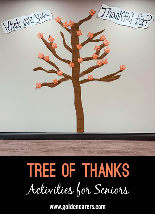 Tree of Thanks