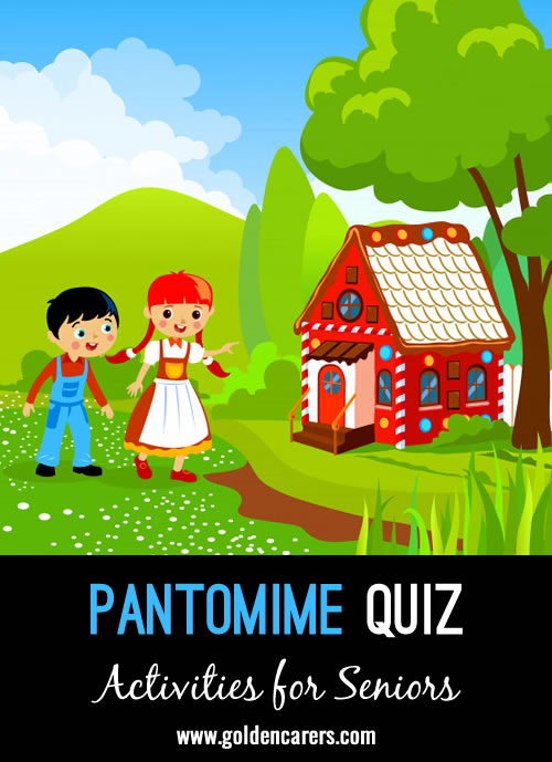 Test your knowledge of well-known pantomimes!