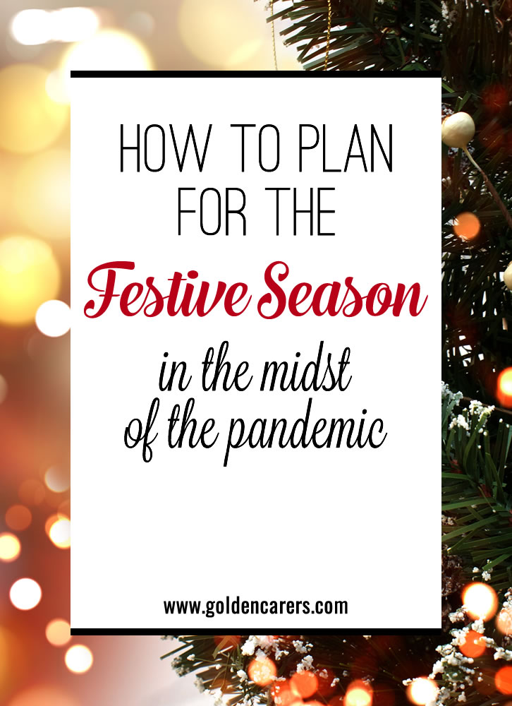 The coronavirus pandemic has made senior living activity planning extra difficult. Between visitor limits, social distancing, and other precautions, the holidays are sure to look different this year.
