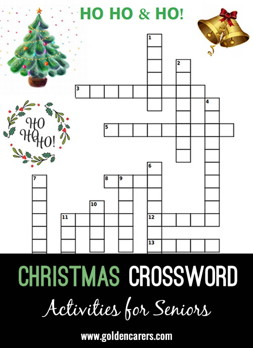 Here is a fun Christmas crossword to enjoy!