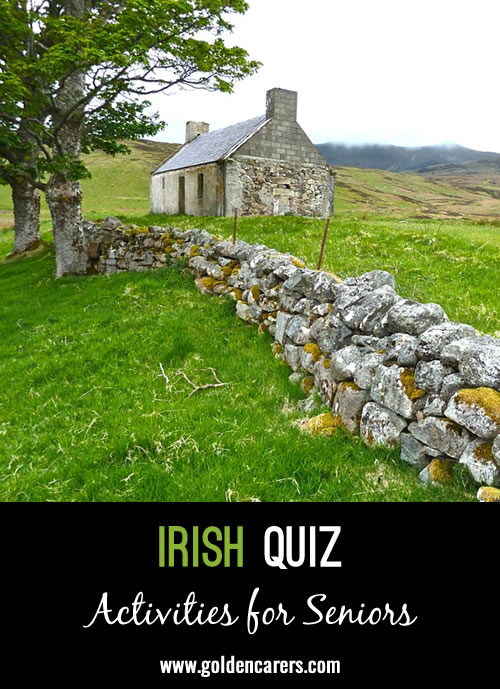 Test your knowledge of Ireland!