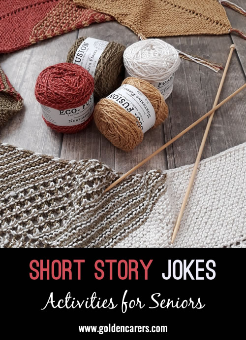 Some more funny short stories to share!