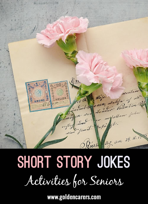 Some more funny short stories the share!