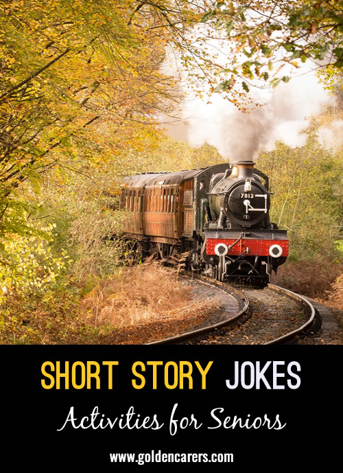 Here are some funny short stories and jokes to share!