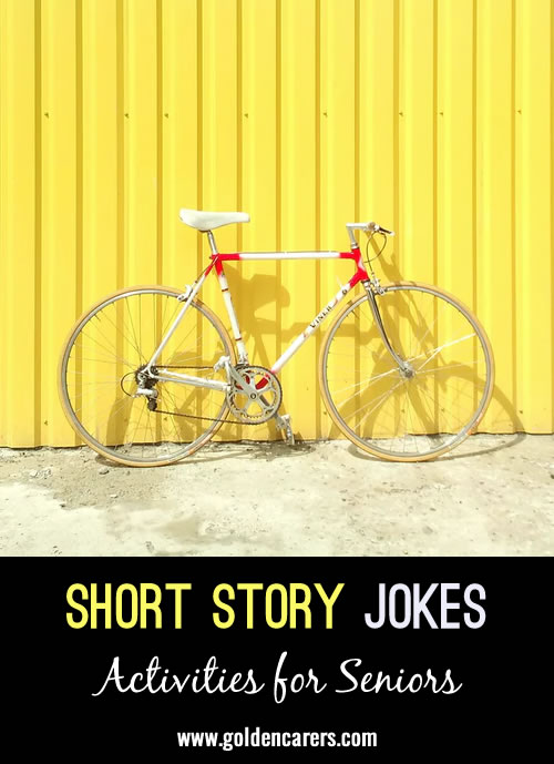 The next installment in our funny short stories series!