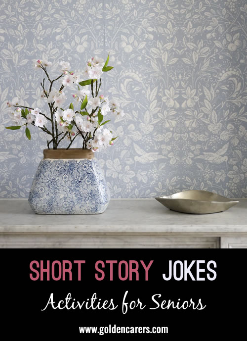 Here are some funny short story jokes to share!