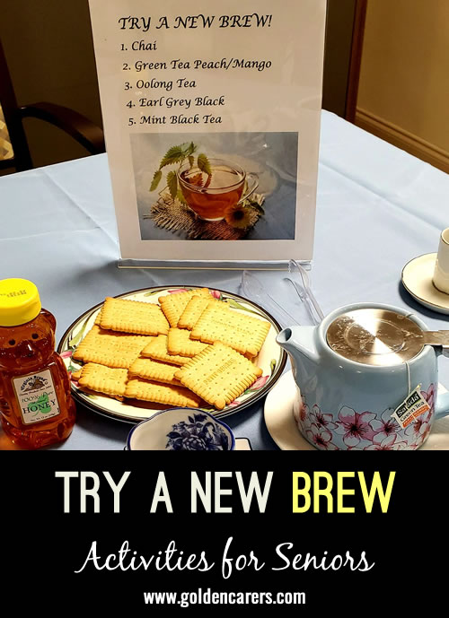 Try A New Brew #2
