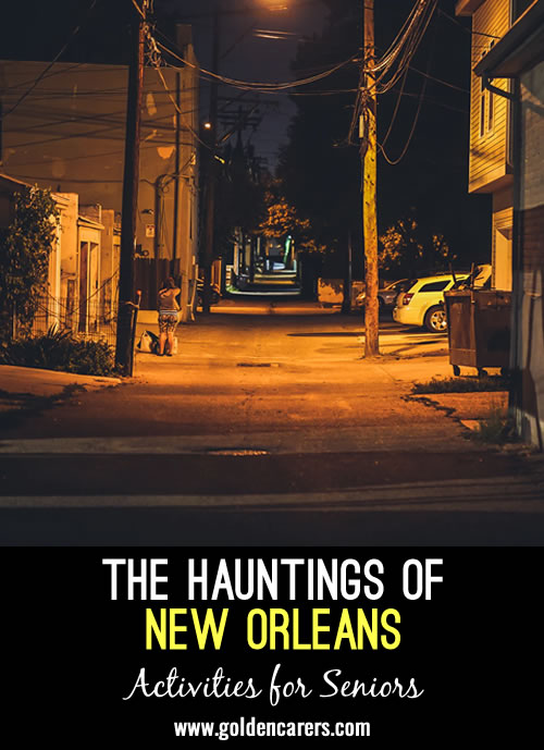 Short Story: The Hauntings of New Orleans