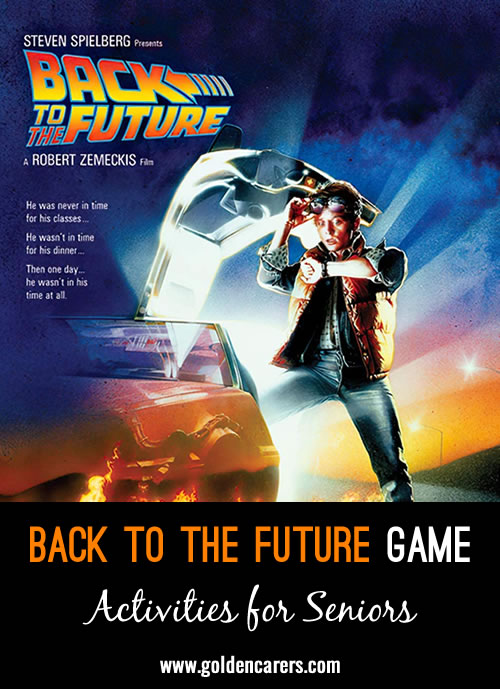 """I would like to share this sctivity I call """"Back to the Future"""". This has proven to be a great multifunctional activity, enjoyed and well participated by all my clients."""