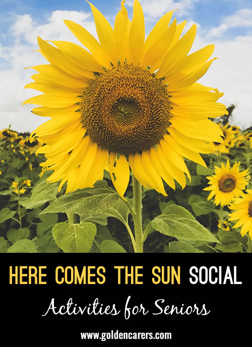 Daylight Savings Time in the United States begins in March, which means everyone can enjoy more sunlight! Celebrate the unofficial start of spring by throwing a sun-inspired social. Here's how to do it:
