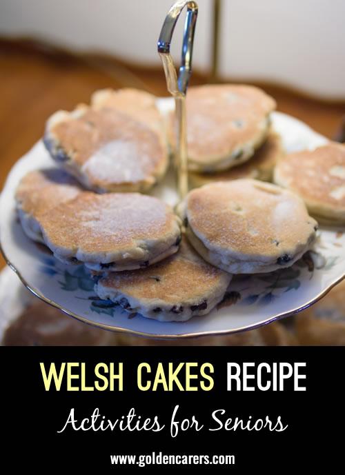 Recipe for Welsh Cakes: Picau ar y Maen