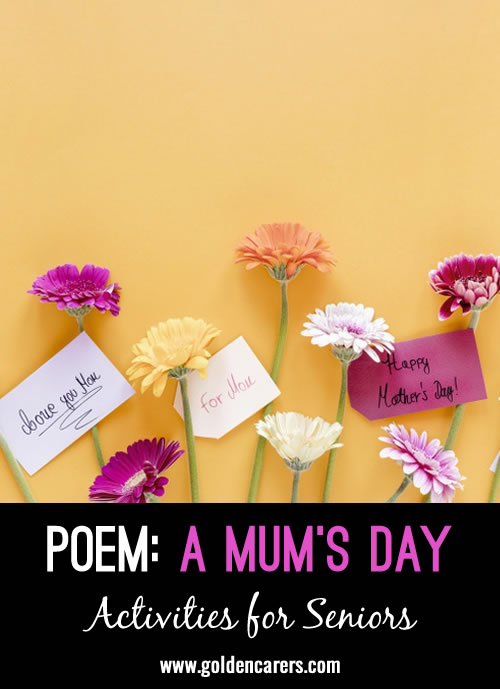 Poem: A Mum's Day