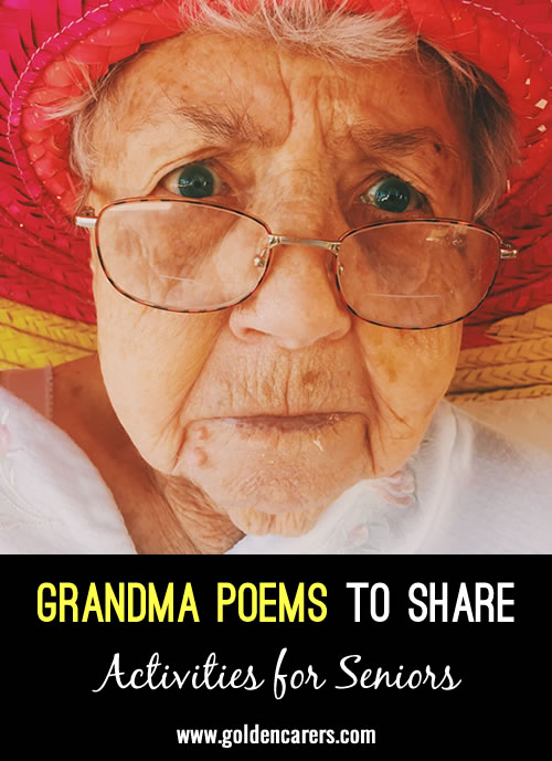 Here are two lovely poems to share!