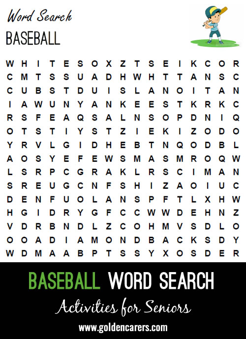 April means one thing in America: baseball season begins again!