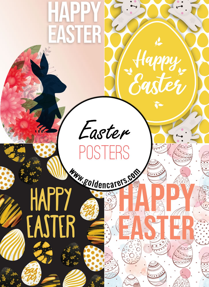 Posters to help celebrate Easter!