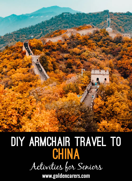 DIY Armchair Travel to China