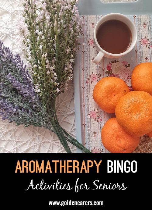 Aromatherapy Bingo