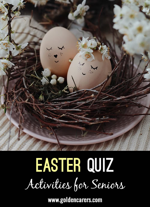 Another quiz to celebrate Easter!