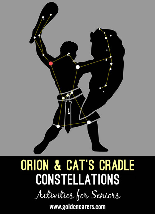 Orion, which is located on the celestial equator, is one of the most prominent and recognizable constellations in the sky and can be seen throughout the world.
