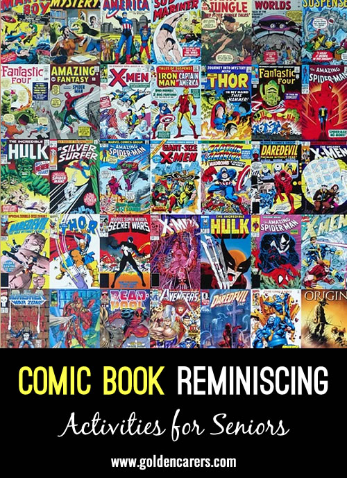Classic Comic Book Reminiscing and Trivia