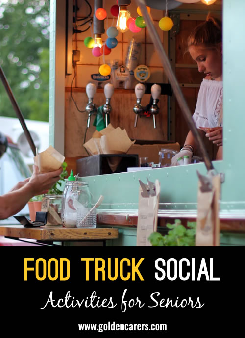 May brings consistently good weather to many of us, which means everyone has dining al fresco on the brain! Celebrate with a Food Truck social, making it a resident-only event or a family night everyone will love.