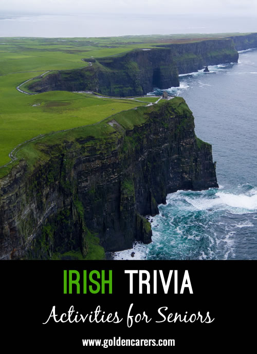 Here are some fascinating facts about Ireland!
