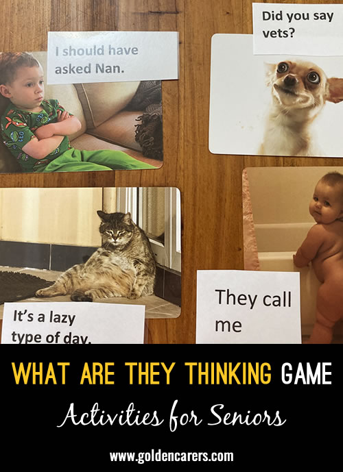 What Are They Thinking Game
