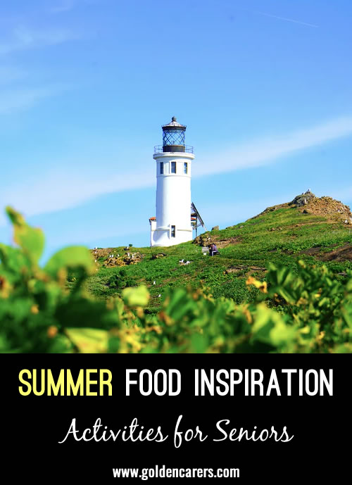 Work with your dining team to host one meal inspired by a national park each week throughout the month or each month throughout the summer.