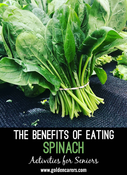The Benefits of Eating Spinach