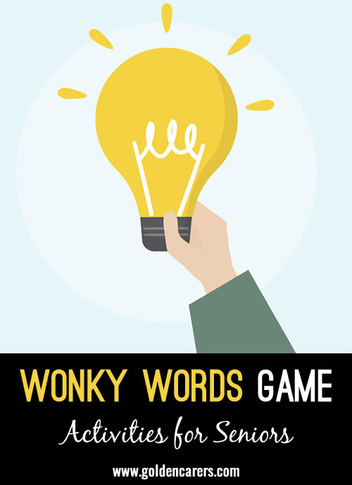 Wonky Words Game