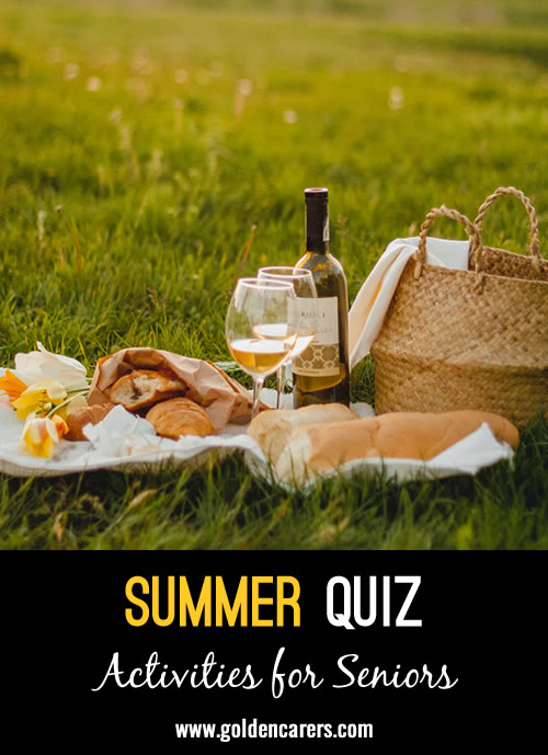 Here's a fun summer quiz to enjoy!