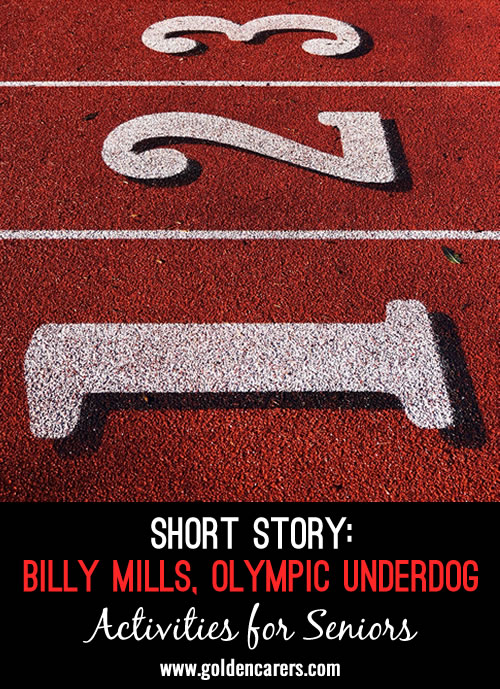 The 1964 Olympics were held in Tokyo, Japan. No one knew that during those games, a relatively unknown athlete named Billy Mills would make history and astonish the world in one of the greatest Olympic moments ever.