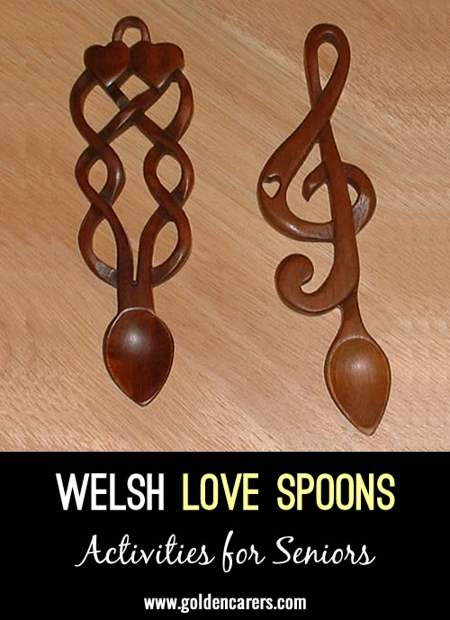 Welsh Love Spoons Folklore