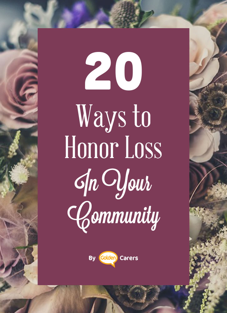 Seniors experience loss of all kinds at a much higher rate than we do. Instead of shying away from addressing loss with your residents, honor it. Your residents will appreciate it, as will your staff members, and visitors.