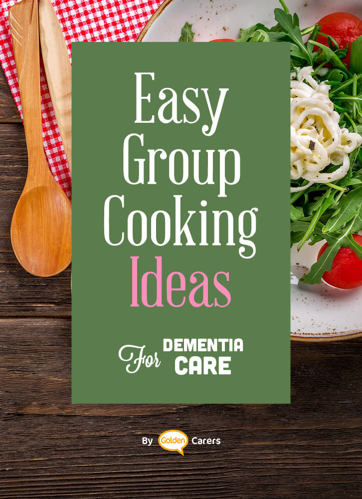 Cooking groups improve motor skills and are great for socializing and even reminiscing!