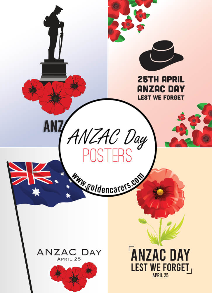 ANZAC Day Posters!